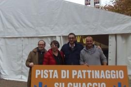 In Piazza Giotto Torna la Pista del Ghiaccio