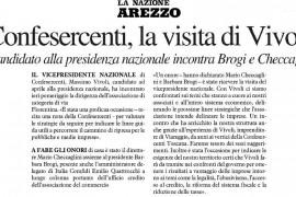 La Nazione Arezzo 6 febbraio 2015