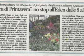 Corriere di Arezzo 24 maggio 2015