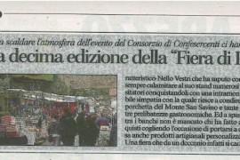 Corriere di Arezzo 25 maggio 2015