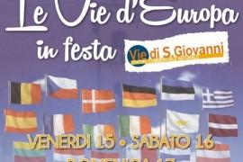 LE VIE D'EUROPA A SAN GIOVANNI VALDARNO