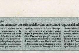 Corriere di Arezzo 13 giugno 2015