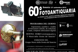 FOTOANTIQUARIA: LA 60ESIMA EDIZIONE
