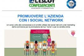 Promuovere l'azienda con i social network