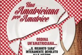 """""""Un'Amatriciana per Amatrice"""": nei ristoranti un primo piatto"""
