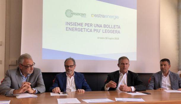 """Convenzioni per i commercianti: Estra in """"casa"""" di Confesercenti"""