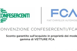 Sconti sull'acquisto di auto grazie alla convenzione con Fca Italy