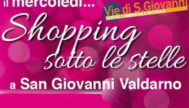San Giovanni Valdarno: Shopping sotto le stelle