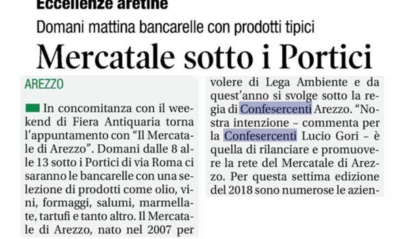 Corriere di Arezzo 3 agosto 2018