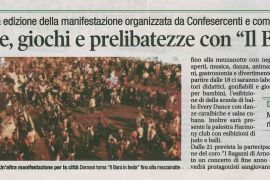 Corriere di Arezzo 4 settembre 2018