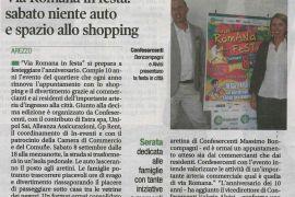Corriere di Arezzo 5 settembre 2018