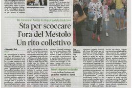Corriere di Arezzo 8 settembre 2018