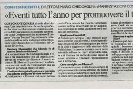 La Nazione di Arezzo 8 settembre 2018