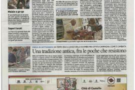 La Nazione di Arezzo 9 settembre 2018