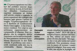 Corriere di Arezzo 24 ottobre 2018