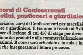 La Nazione di Arezzo 18 ottobre 2018