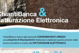Fattura elettronica: accordo tra Confesercenti e Chianti Banca