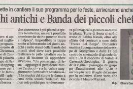 Corriere di Arezzo 20 dicembre 2018