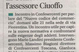 Corriere di Arezzo 9 dicembre 2018