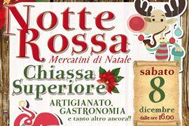 """""""Notte Rossa"""" alla Chiassa Superiore"""