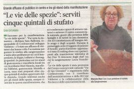 Corriere di Arezzo 22 gennaio 2019