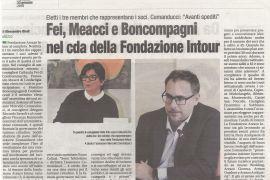 Corriere di Arezzo 23 gennaio 2019