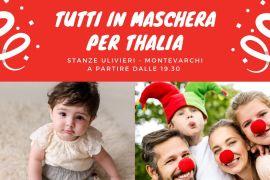 Montevarchi: Tutti in maschera per Thalia per aiutarla a camminare