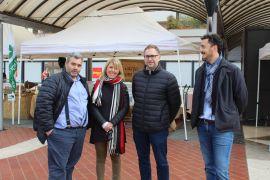 Piazza Zucchi: mercato Sapori e Saperi aretini