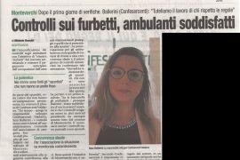 Corriere di Arezzo 15 aprile 2019
