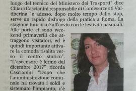 Corriere di Arezzo 17 aprile 2019