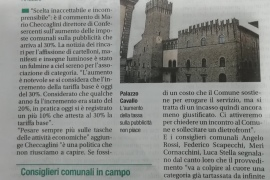 Corriere di Arezzo 6 aprile 2019