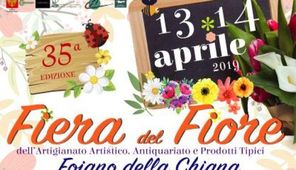Fiera del fiore a Foiano della Chiana, sabato 13 e domenica 14 aprile