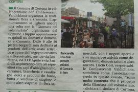 Corriere di Arezzo 10 maggio 2019