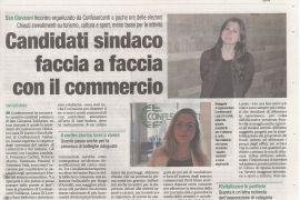 Corriere di Arezzo 24 maggio 2019