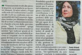 Corriere di Arezzo 7 maggio 2019