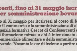 Corriere di Arezzo 9 maggio 2019