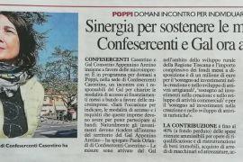 La Nazione di Arezzo 7 maggio 2019