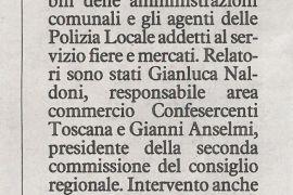 La Nazione di Arezzo 9 maggio 2019