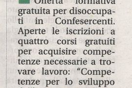 Corriere di Arezzo 7 giugno 2019