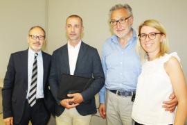 Rotatoria sul raccordo: in Confesercenti incontro con Gamurrini