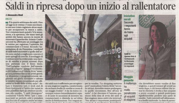 Corriere di Arezzo 30 luglio 2019