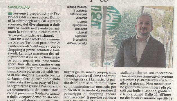Corriere di Arezzo 5 luglio 2019