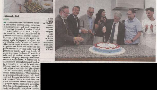 Corriere di Arezzo 9 luglio 2019