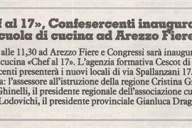 La Nazione di Arezzo 5 luglio 2019