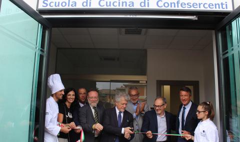 """Inaugurata """"Chef al 17"""" , la scuola di cucina di Cescot-Confesercenti"""