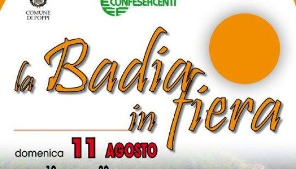 A Badia Prataglia, domenica 11 agosto: Badia in Fiera