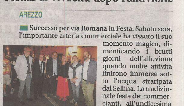 Corriere di Arezzo 10 settembre 2019