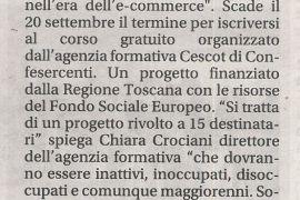 Corriere di Arezzo 17 settembre 2019
