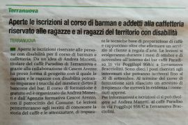 Corriere di Arezzo 20 settembre 2019