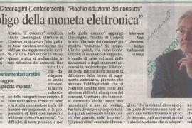 Corriere di Arezzo 29 settembre 2019